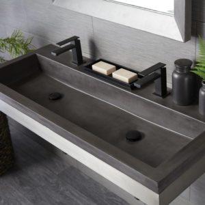 Trough-4819-Concrete-Bathroom-Sink-Slate-NSL4819-S-2