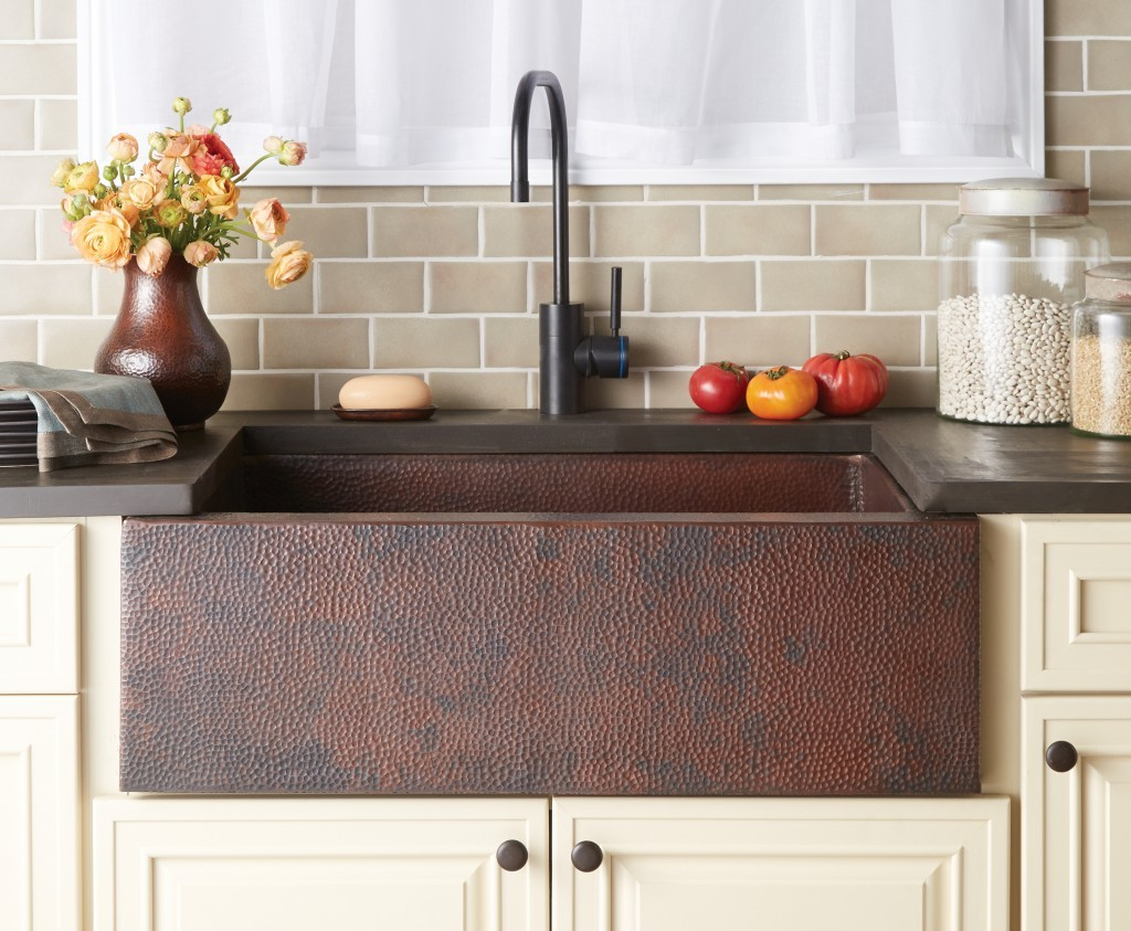 Pinnacle Copper Apron Sinks