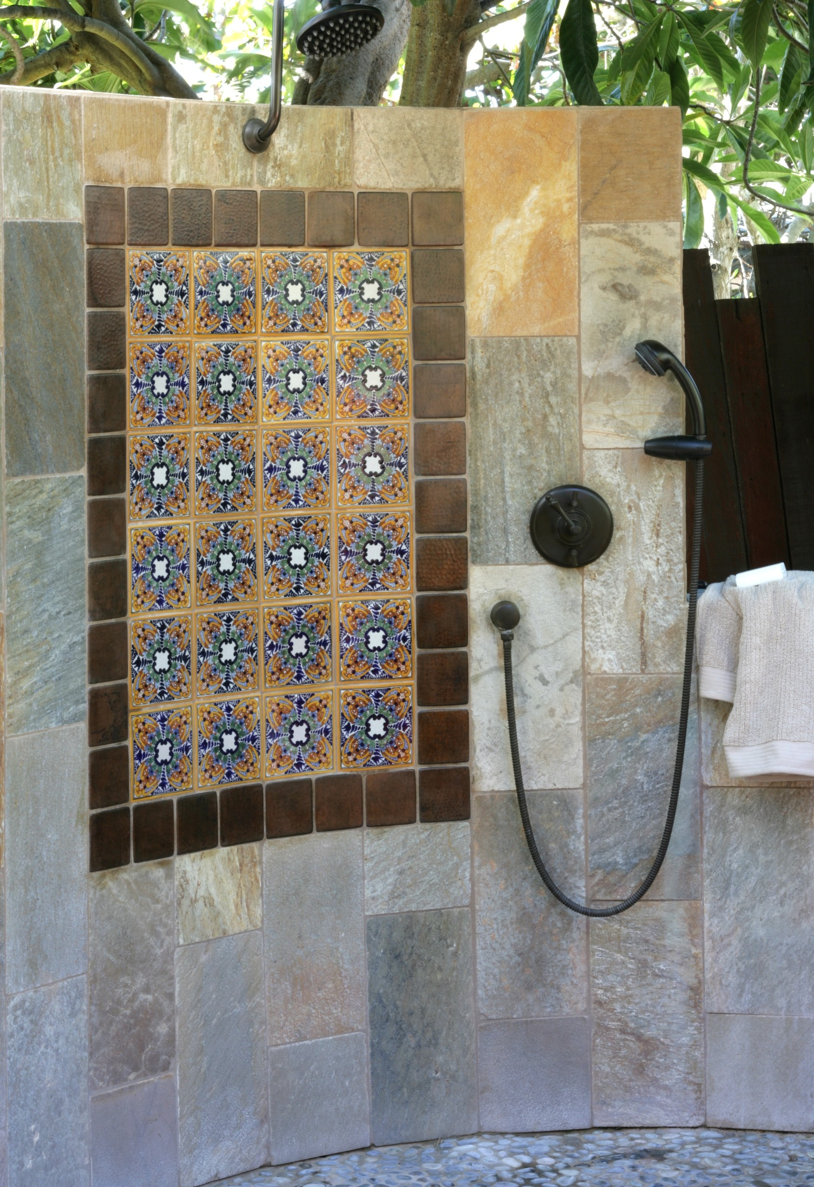 tv shower tile ideas