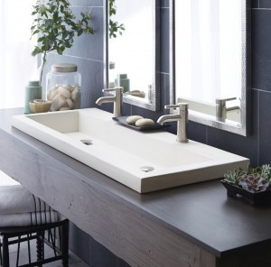 NativeStone Trough 4819 Concrete Sinks