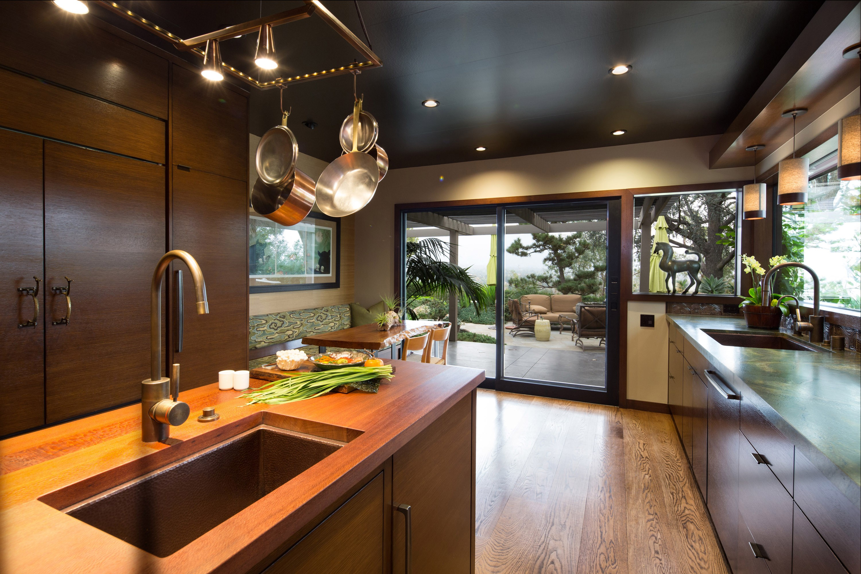 Asian Inspired Kitchen