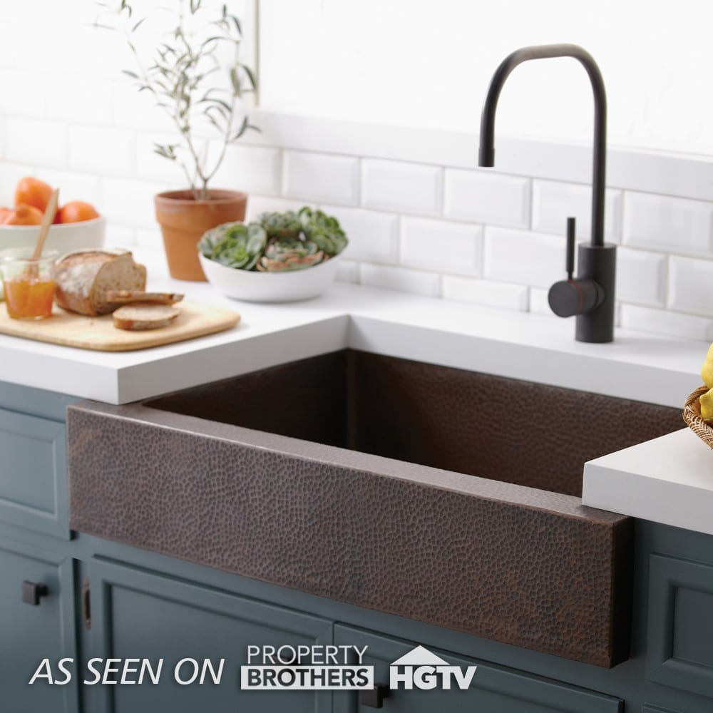 Paragon Apron-Front Kitchen Sink in Antique (Property Brothers)