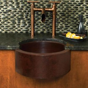 Fiesta Copper Bar & Prep Sink in Antique (CPS214)