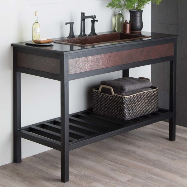 Cuzco 48in Steel Vanity Base in Antique (VNR482)