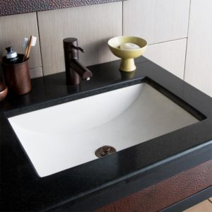 Cabrillo Concrete Bathroom Sink in Pearl (NSL2014-P)