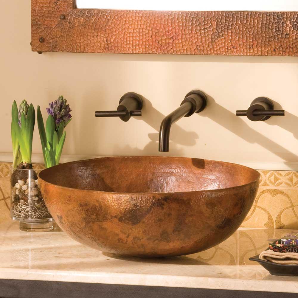 Copper Vessel Bathroom Sink