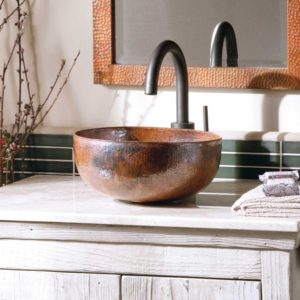 Maestro-Petit-Copper-Bathroom-Sink-Tempered-CPS366