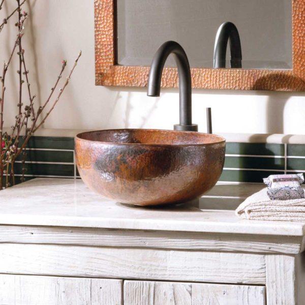 Maestro-Petit-Copper-Bathroom-Sink-Tempered-CPS366