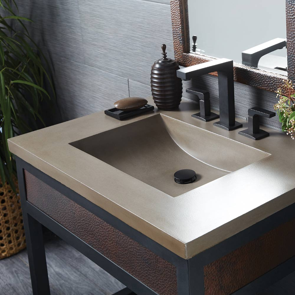 Vanity Top With Integrated Sink