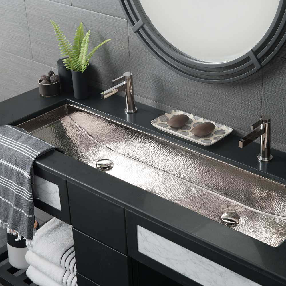 Bathroom Sink.Trough 48