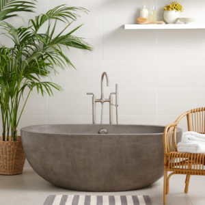 Avalon-62in-Concrete-Bathtub-Ash-NST6236-A