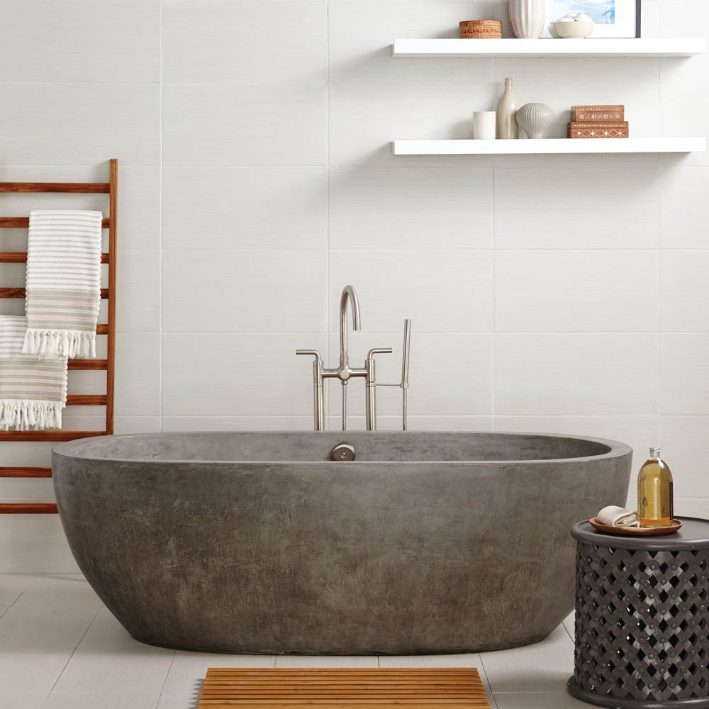 Avalon-72in-Concrete-Bathtub-Ash-NST7236-A