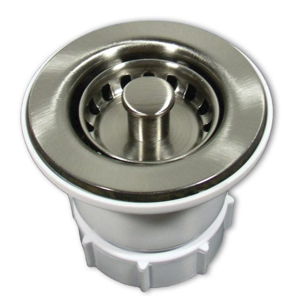 2in Jr Strainer in Brushed Nickel (DR220-BN)