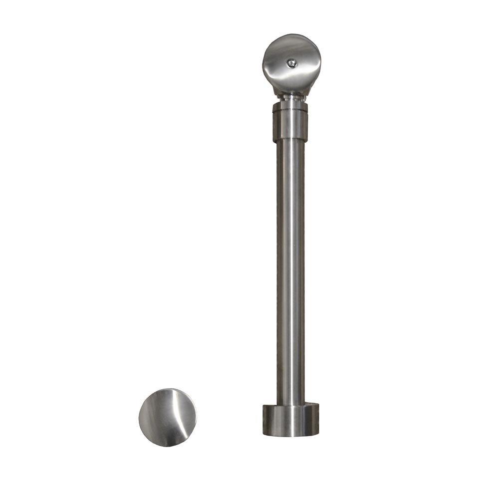 Native Trails Push to Seal Bath Waste & Overflow in Brushed Nickel, DR290-BN