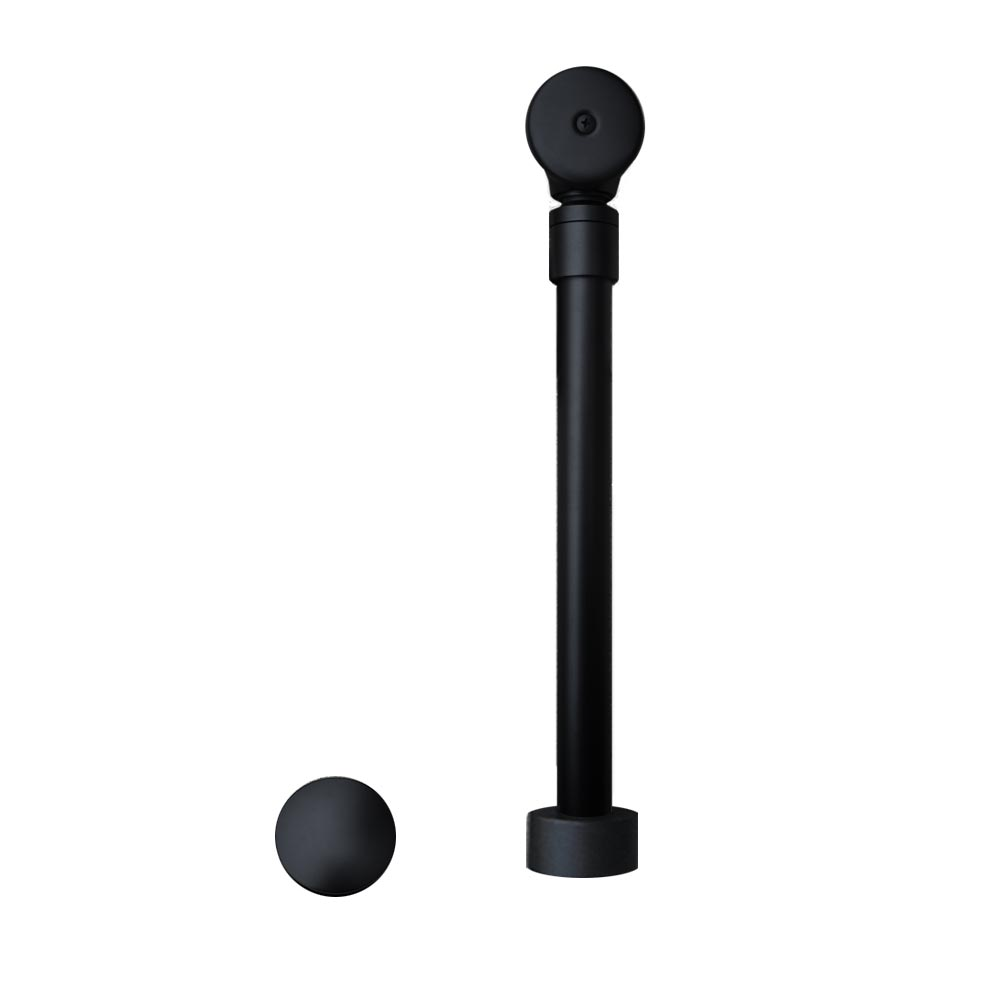 Native Trails Push to Seal Bath Waste & Overflow in Matte Black, DR290-MB