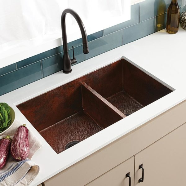 Cocina Duet Kitchen Sink in Antique (CPK275)