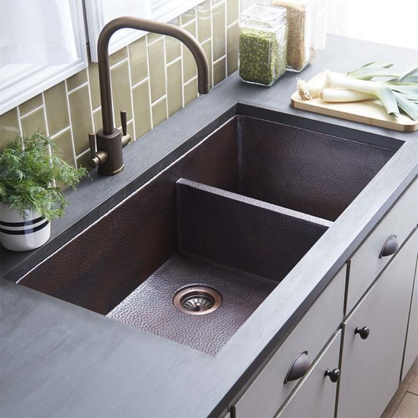Cocina Duet Pro Kitchen Sink in Antique (CPK277)