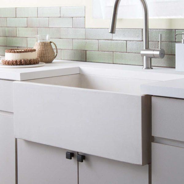 Farmhouse-3018-Concrete-Kitchen-Sink-Pearl-NSK3018-P