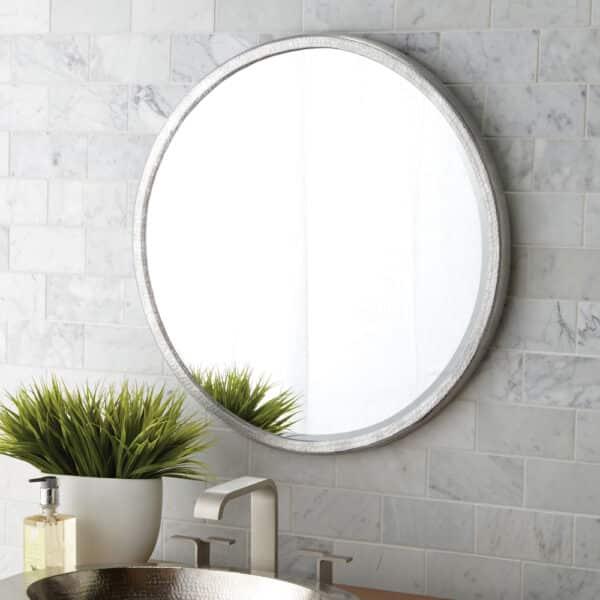 Divinity Round Aluminum Mirror (MR525)