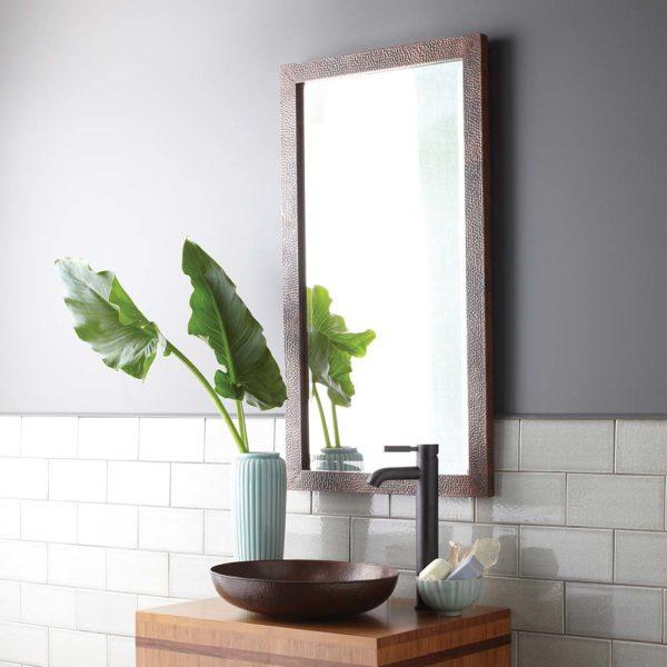 Milano Copper Mirror, Small (CPM294)